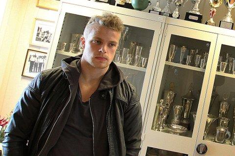 KIL-SPILLER: Emil Berger har signert toårskontrakt med KIL.