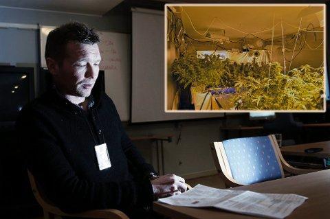 BEKREFTER: Leder for narkoavsnittet til Troms politidistrikt, Yngve Myrvoll, forteller at de har slått til mot flere adresser, og gjort større beslag.