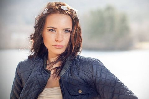 VIL VINNE: Solveig Hartviksen håper på å gjøre det skarp under Miss Universe-konkurransen.