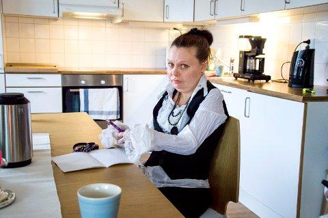 Fleksibelt: ? Man vil gjerne ha et liv utenfor leiligheten, sier Kristina Lysebo. Med appen får hun i større grad mulighet til det.