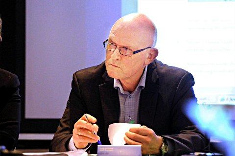 VIL UTREDE PSYKIATRIEN: Daniel Haga og Helse Midt-Norge vil ha vurdert helseforetakets behov for psykiatrisenger i forbindelse med nytt akuttsykehus for Nordmøre og Romsdal.