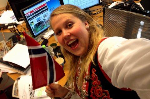 HURRA: Vi er på jobb på 17.mai for å gi deg alle nyhetene fra Romerike på nasjonaldagen. Journalist Karoline Carlsen vil oppdatere deg fra klokka 06.30 lørdag morgen.