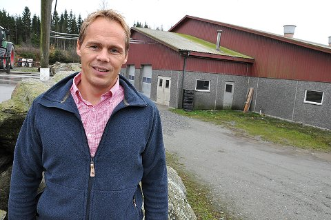 Sier Nei: Henrik Mørk Eek mener selv at han ikke har gjort noe galt i denne saken. Han vil ikke betale gebyret fra Skiptvet kommune.