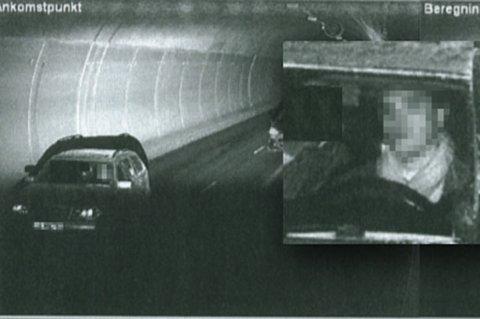 MEST FOTOGRAFERT: Politiets fotomappe i saken mot den 30-årige mannen er av den tykkere sorten. Her blir han målt til 91,8 kilometer i timen. Foto: Politiet