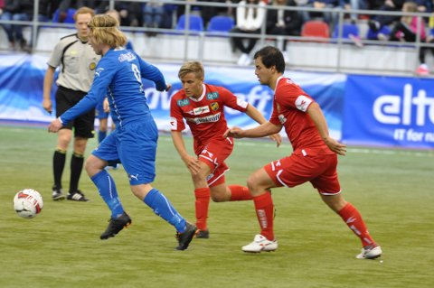 Tresor Egholm har måtte se at blant annet Mathias Dahl Abelsen har står foran han i køen til Rune Repviks første ellever.