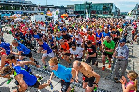 Rekordmange deltok i Glommaløpet. Rundt 1.200 stilte til start.