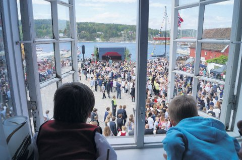 Vestby kommune høster mye ros for sitt arrangement i Son 17. mai.