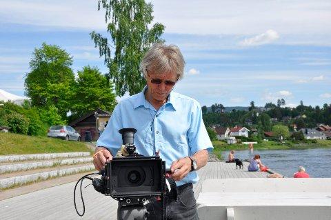 Steinar hybertsen har Hønefoss og Ringerike i fokus.