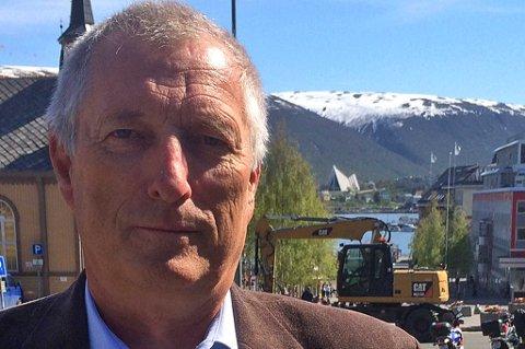 SAMARBEID: Reidulf Klovning, prosjektleder i Norsk olje og gass, er i Tromsø i forbindelse med Beredskapskonferansen. Foto: Rune Endresen