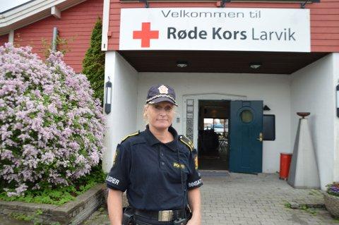 Innsatsleder hos politiet, Line Andresen Olstad