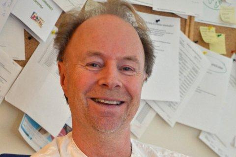 Fremtid: Lars Solstads mener det er en rekke tiltak som tilsier at styret i Helse Nord og direktører i Nordlandssykehuset HF ønsker å styrke sykehuset i Lofoten.