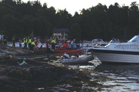Vitner tilkalte helsepersonell tilknyttet Kystkulturuka da en mann ramlet ned en bratt fjellvegg.