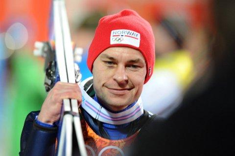 Anders Jacobsen må ta buss og trikk til og fra trening i Oslo etter at han mistet lappen for en måned siden.