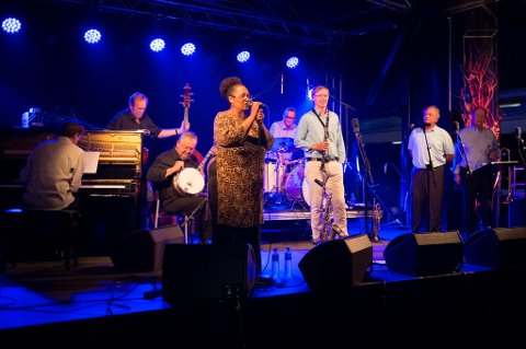 Magnolia jazzband på Hemnesjazz 2014