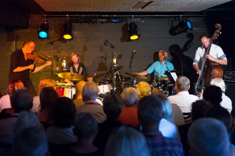 Ola Kvernberg trio på Hemnesjazz 2014.