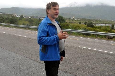 TILTAK: Are Johansen i Norsk Landbruksrådgivning i Lofoten mener Lofoten bør blinke ut områder der landskapet skal være åpent.