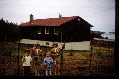 Dette bildet er fra den gang Karin var med i speideren. På bildet: fv Geir Cato Rognmo, Siv Heidi Rognmo, Monica Rognmo og Karin Rognmo.