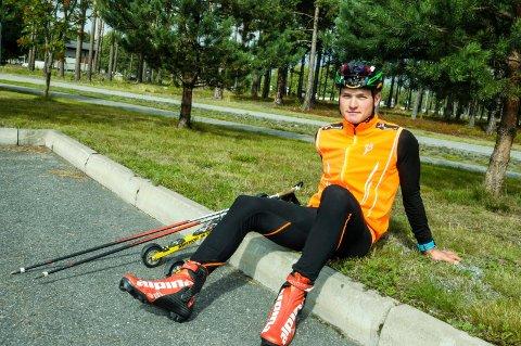 Juniorverdensmester Eirik Sverdrup Augdal stortrives med livet som profesjonell langrennsløper.