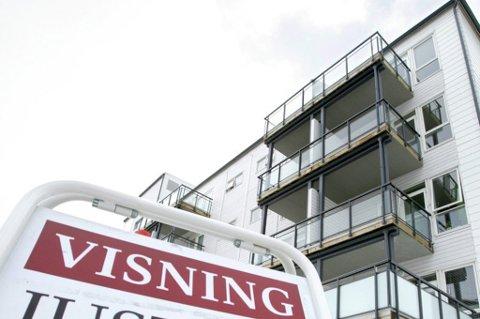HET SOMMER: Eiendomsmeglerne i Tromsø forteller om en brennhet augustmåned i boligmarkedet.
