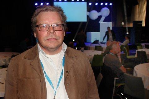 Kraemer Maritime med utviklingssjef Terje Bjørgve fortalte på Telenors Connect-konferanse om hvordan de har digitalisert bedriften og fått vekk papirmølla med å ta i bruk ny teknologi.