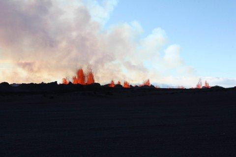 Den vonde lukten i Møre og Romsdal kommer trolig fra den islandske vulkanen Bardarbunga.