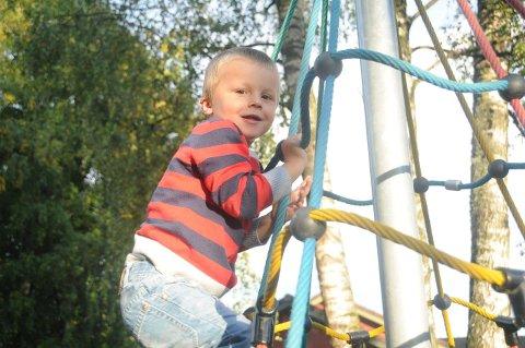 RØMTE: Oliver på tre år rømte fra Klosterskogen barnehage ved å hoppe over gjerdet uten at noen i barnehagen oppdaget det før politiet ringte dem.