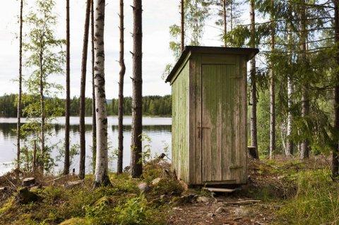 Enkel standard: Mange av hyttene har ganske enkel standard, både på den ene og andre måten...
