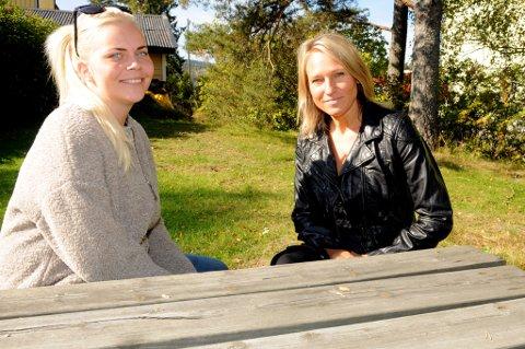 Cecilie Landsverk (24) fra Aurskog (t.v.) ble voldtatt for ni år siden. Sammen med utekontakt/SLT-koordinator Tine Enger i Aurskog-Høland kommune starter hun opp selvhjelpstilbudet Veien etter overgrep.