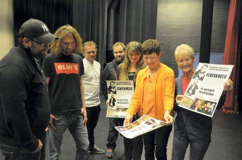 Jon Richard Nettum Sandum, Øystein Hagen, Tage Hybertsen og Ivan Makedonov støtter Wenche Lien, Annlaug Nielsen og Hilde Thorsland med konsert.