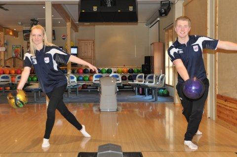 Julianne Wangsvik og Lars Kofstad er klare for henholdsvis junior- og U21-landslaget.