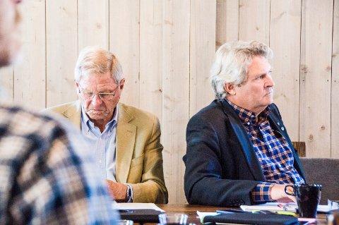 ingen konflikt: Jan Villum avviser at han har hatt en personlig konflikt med partikollega og varaordfører Hallstein Bast.arkivfoto: lasse nordheim