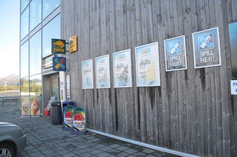 Oles kiosk AS holdt til i Lofotsenteret.