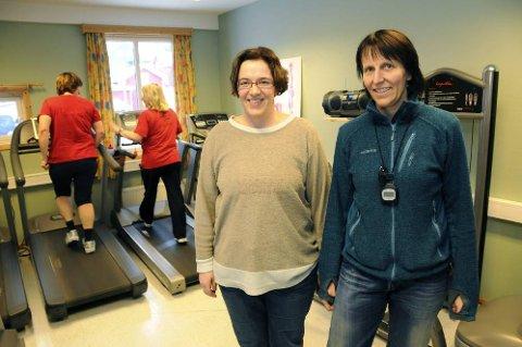 ANNERKJENNELSE: Nicole Weling (t.v.) og Kari Mentzoni ved Fysak i Sandnessjøen blir nasjonal uviklingssentral. (Arkivfoto: Tor Martin Leines Nordaas)