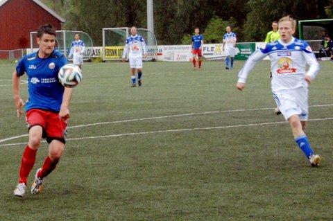 Fet klarte 2-1 mot Alvdal på Fedrelandet i våres. I Aukrust-bygda måtte blåtrøyene se seg slått med 3-1.