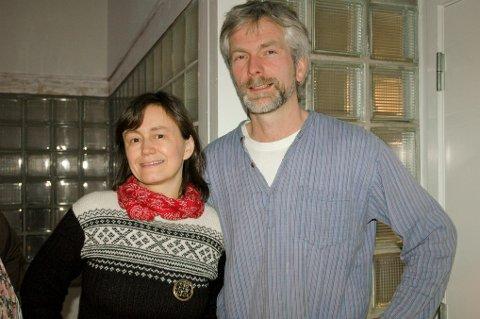 Eva Hanssen og Ketil Erdal vant i kveld årets antisutrepris.