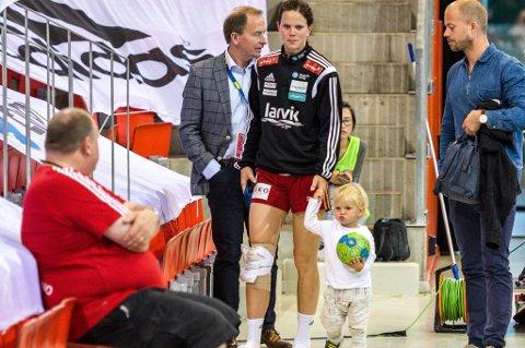Ny smell: Tine Stange er skadet igjen, og dermed ryker et evenetuelt EM for LHK-spilleren. Arkivfoto: Joachim Hellenes
