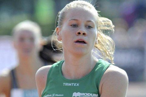 FJERDEPLASS: Heidi Mårtensson klarte ikke å forsvare gullet i nordisk mesterskap i terrengløp. Her fra en annen konkurranse.