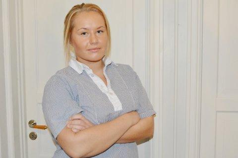 Pernille Lie Olsen synes helsefagarbeidere skal være stolte av jobben de gjør.