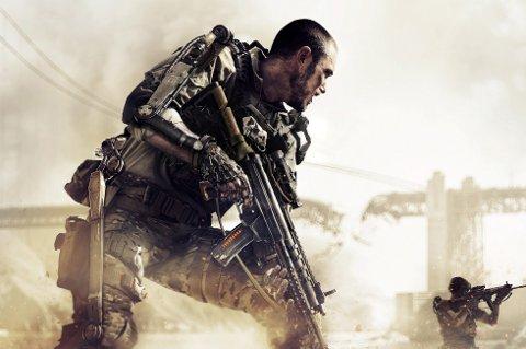 DISTRAKSJON: Fokus på vold i spill kan distrahere fra mer alvorlige bekymringer, ifølge forsker. Bildet er fra Call of Duty: Adwanced Warfare.