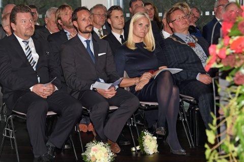 Kronprinsesse Mette-Marit foretok den offisielle åpningen av Aust-Agder kulturhistoriske senter tirsdag. Foto: Sven Gj. Gjeruldsen, Det kongelige hoff