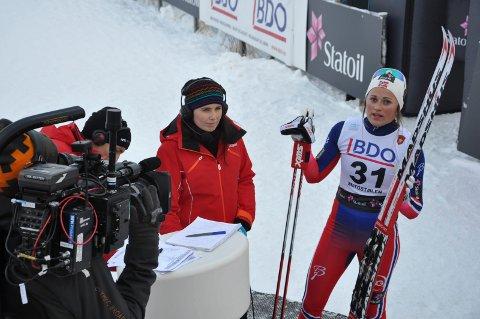 INTERVJU: Barbro Kvåle var den store norske overraskelsen på Beito.