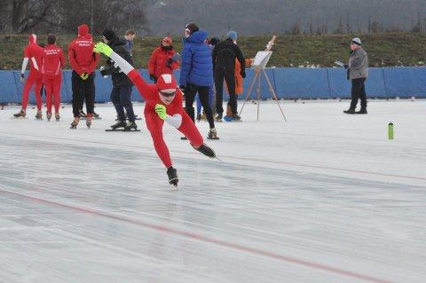 SPRINT: Sander Mikkelsen er en rask herremann som satser på sprint.
