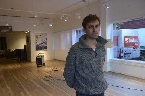 Dagleg leiar Øyvind Ribesen og dei tilsette gler seg til opning.