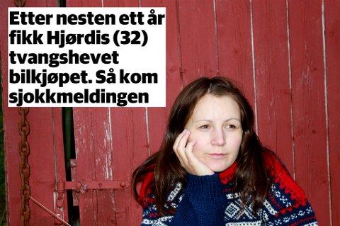 I januar 2014 kjøpte Hjørdis Bredesen en brukt Volkswagen Sharan hos Bilmax Trondheim AS. Hun oppdaget fort at bilen ikke var i samme stand som tilstandsrapporten lovet. Nesten ett år etter fikk hun tvangshevet bilkjøpet. Men før hun fikk kjøpesummen i retur, slo Bilmax seg selv konkurs.