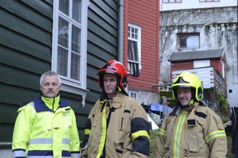 Jan Ove Karlsen, Bjørn Finne og Heinz Hansen i Brotateigen.