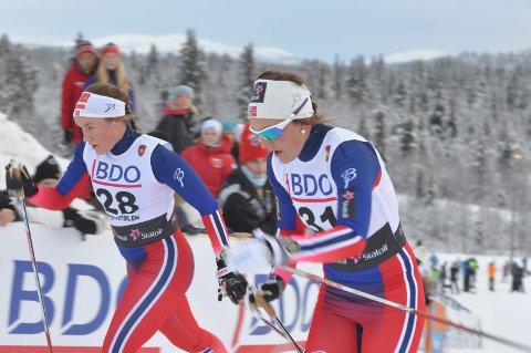 KVARTFINALE: Barbro Kvåle gikk to sterke løp på Lillehammer fredag.