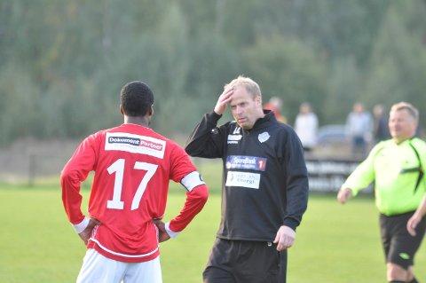 VALGTE JIF: Lars Lafton valgte å fortsette som trener i Jevnaker.