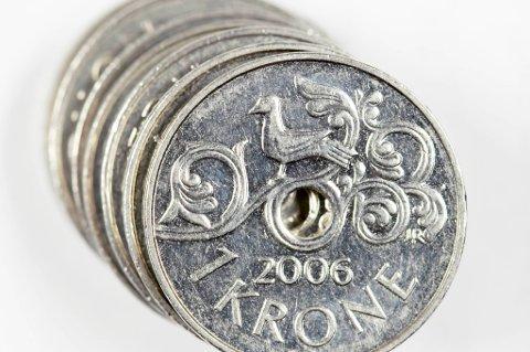 Den norske krona svekket seg kraftig tirsdag.