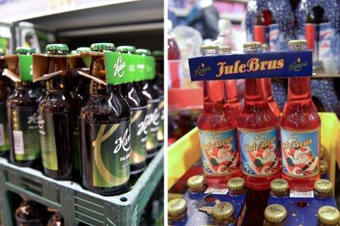 Det Finnes Fremdeles Julebrus Og L Fra Hansa P Gjenbruksflasker Av Glass I Butikkene Men