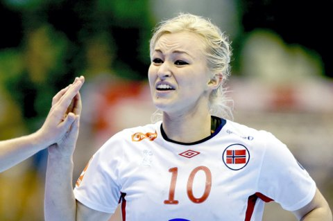 EUROPAMESTER: Stine Bredal Oftedal (23).